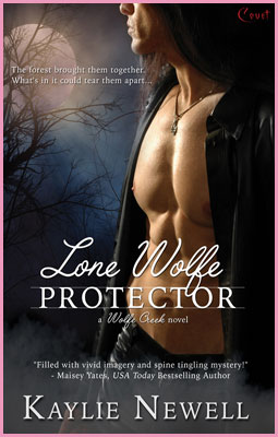Tongue Wagger - Lone Wolfe Protector by Kaylie Newell