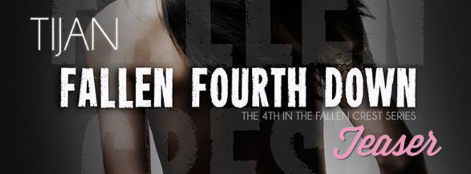Book It - In News Today: Tijan Gives FALLEN FOURTH DOWN TEASER!