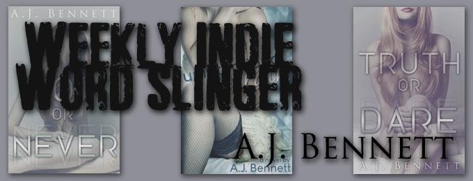 Weekly Indie Word Slinger – A.J. Bennett