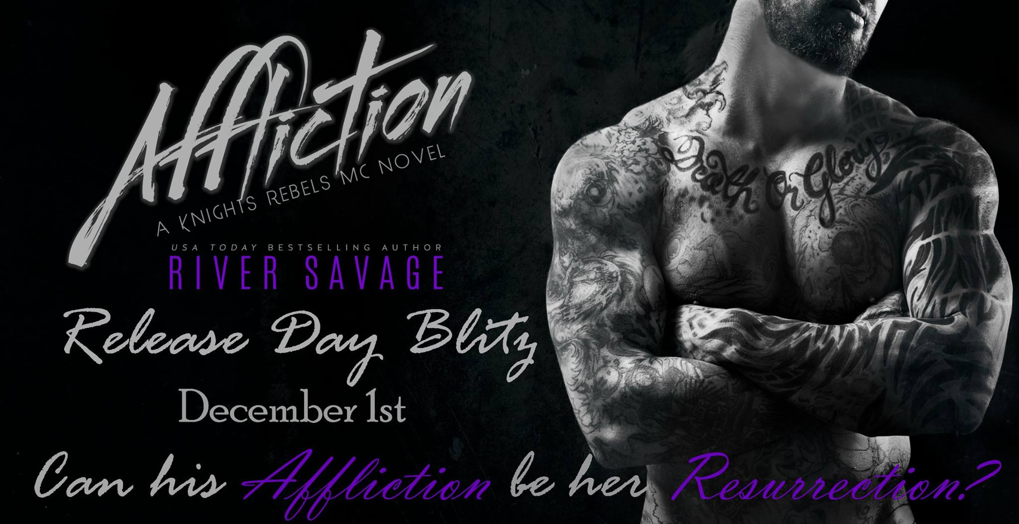 Book It – In News Today: Feel The Affliction, River Savage Style!