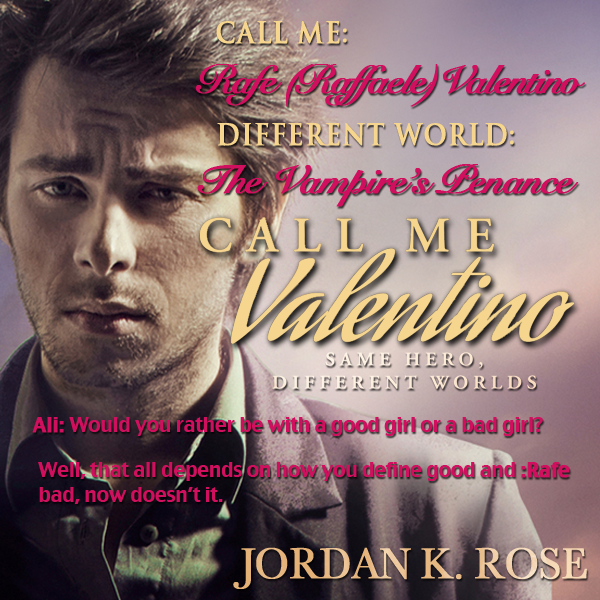 He Said, She Said – Fictional Friends: Will The Real Valentino Please Stand Up? Day 1
