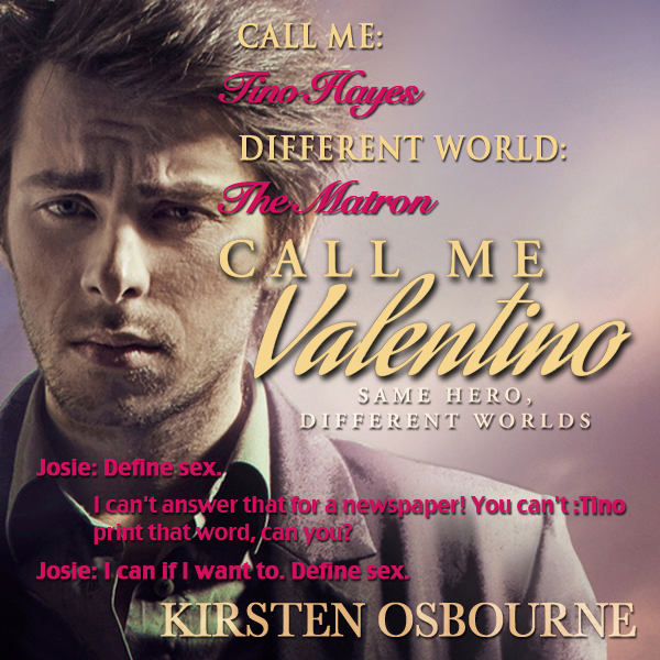 He Said, She Said – Fictional Friends: Will The Real Valentino Please Stand Up? Day 2