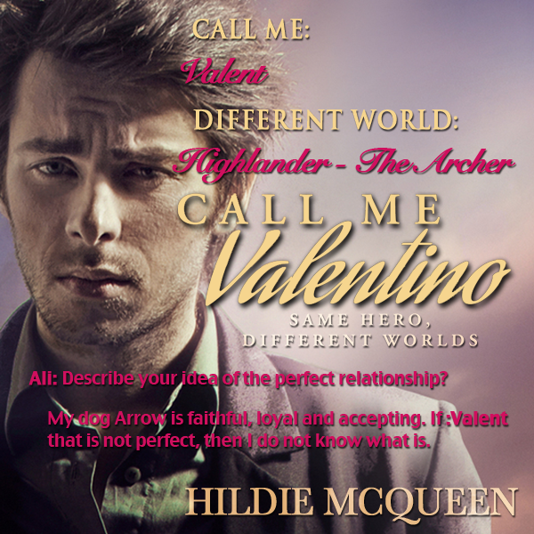 He Said, She Said – Fictional Friends: Will The Real Valentino Please Stand Up? Day 5