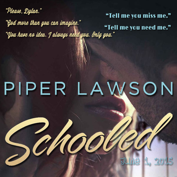 Book Boyfriend – Schooled by Piper Lawson