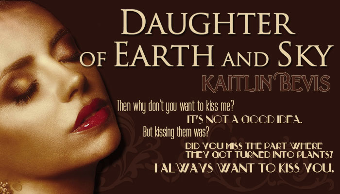 Any Day That Ends in YA – Daughter of the Earth and Sky by Kaitlin Bevis