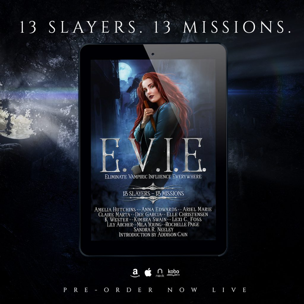 E.V.I.E. 13 Slayers, 13 Missions Anthology