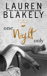 One Night Only by Lauren Blakely
