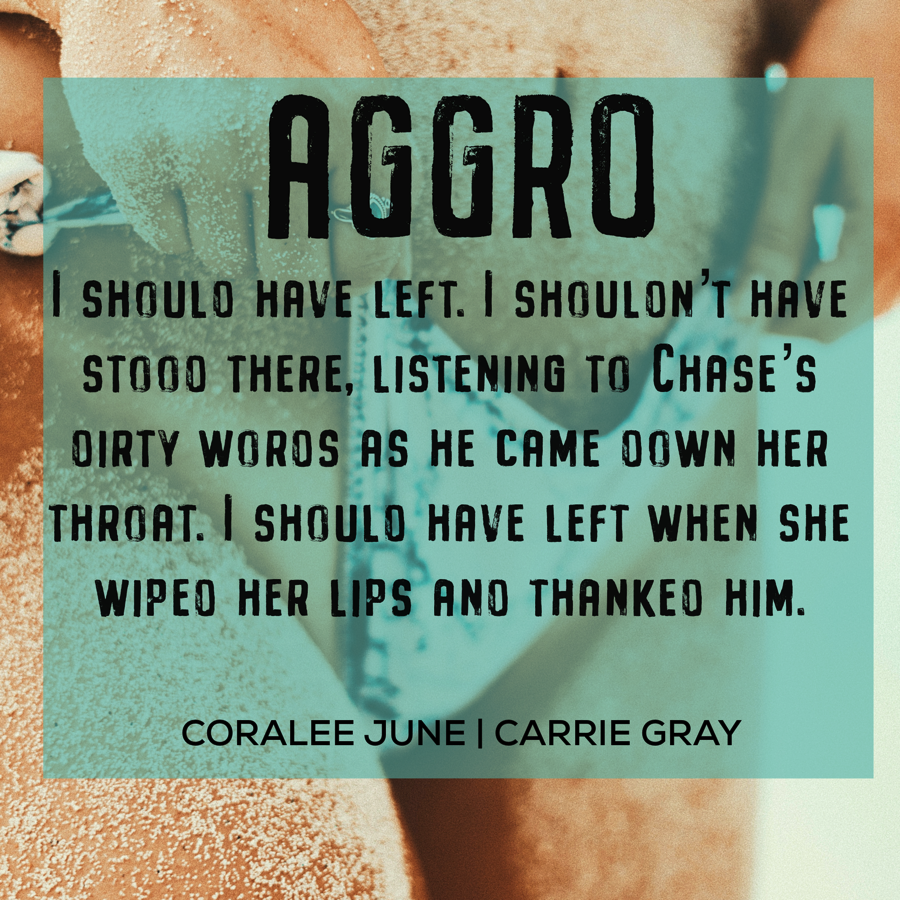 Aggro by Carrie Gray and CoraLee June